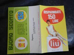 13.1) VECCHIA PUBBLICITA' BUONO SCONTO CERA LIU' 1968 CIRCA - Advertising