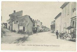 GIGNAC - Jonction Des Avenues Des Martigues Et Chateauneuf  - Attelage Ane - Marchand Ambulant   (2209 ASO) - France