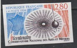 France N° 2904 Non Dentelé ** Année 1994 - Francia