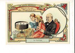 55794 - CHOCOLAT DU PLANTEUR LES JOUETS MODERNES - LE ZOOTROPE - Advertising