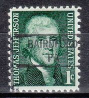 USA Precancel Vorausentwertung Preo, Locals Pennsylvania, Bairdford 841 - Estados Unidos