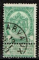 56  Obl  Barvaux  + 4 - 1893-1907 Wappen