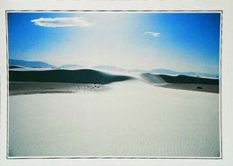 USA  New Mexico A Desert Of White Sands   Années 80s - Etats-Unis