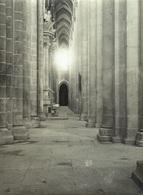 PORTUGAL - ALCOBAÇA, Mosteiro De Alcobaça - Fotográfico 11x8cm Arquivo Théodore L'Huillier 1905-1907 # 7/10 - Leiria