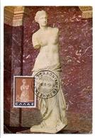 GRECE CARTE MAXIMUM 1959 VENUS DE MILO - Cartoline Maximum