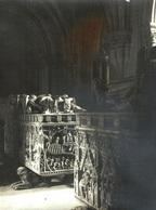 PORTUGAL - ALCOBAÇA, Mosteiro De Alcobaça - Fotográfico 11x8cm Arquivo Théodore L'Huillier 1905-1907 # 10/10 - Leiria