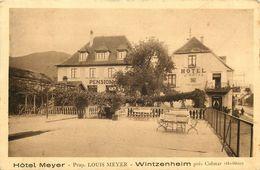 HAUT RHIN  WINTZENHEIM   Hotel MEYER - Wintzenheim