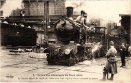 CPA Paris 10e - Gréve Des Cheminots Du Nord (88013) - Huelga