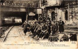 CPA Paris 10e - Gréve Des Cheminots Du Nord (88015) - Huelga