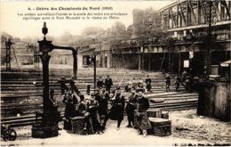 CPA Paris 10e - Gréve Des Cheminots Du Nord (88022) - Huelga