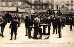 CPA Paris 10e - Gréve Des Cheminots (88038) - Huelga