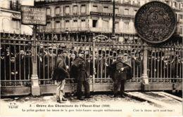 CPA Paris 17e - Gréve Des Cheminots De L'Ouest-Etat (88044) - Huelga