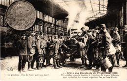 CPA Paris 17e - Gréve Des Cheminots De L'Ouest-Etat (88050) - Huelga