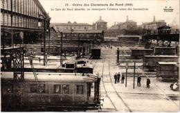 CPA Paris 10e - Gréve Des Cheminots Du Nord (88053) - Huelga