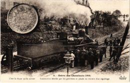 CPA Paris 10e - Gréve Des Cheminots (88055) - Huelga