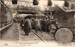 CPA Paris 10e - Gréve Des Cheminots (88056) - Huelga