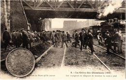 CPA Paris 10e - Gréve Des Cheminots (88059) - Huelga