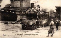 CPA Paris 10e - Gréve Des Cheminots Du Nord (88060) - Huelga