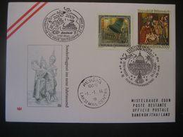 Österreich 2000- Advent 1150 Wien 16.12.2000 Flugpost In Der Weihnachtszeit Nach Bangkok - Poste Aérienne