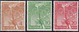 Berlin, 1952, 88/90, MNH **,  Vorolympische Festtage. - Unused Stamps