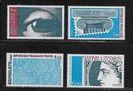FRANCE  ( FR7 - 250 )  1975  N° YVERT ET TELLIER  N° 1834/1837   N** - France