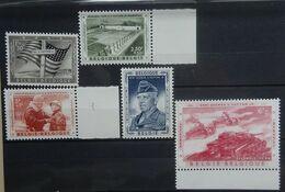 BELGIE 1957   Nr. 1032 - 1036   Postfris **    CW 30,00 - Unused Stamps