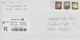 Deutschland 2020: Einschreiben Aus Horb Nach Horb, Frankatur 3470, 3472, 2463 - BRD
