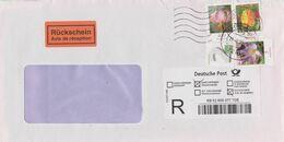 Deutschland 2015: Einschreiben, Rückschein Aus Empfingen, Frankatur 2480A, 2484A, 3118 - BRD