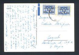ITALY, Yugoslavia, Trieste, Istria - Postcard Sent From Opatija To Zagreb 1947. - Sonstige