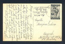 ITALY, Yugoslavia, Trieste, Istria - Postcard Sent From Opatija To Zagreb 1946. - Sonstige