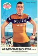 Joseph BRUYERE , Autographe Manuscrit, Dédicace . 2 Scans. Cyclisme. Molteni 1973 - Radsport