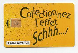 """Télécarte """" Schweppes"""" - Publicidad"""