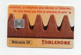 """Télécarte """" Toblerone"""" - Publicidad"""