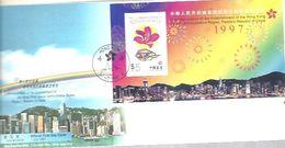FDC 1997 - 1997-... Chinese Admnistrative Region