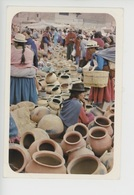 """Cuenca - Ecuador Sudamerica - Mercado Para La Venta Y Compra De """"pondos"""" En Cuenca - Vessels Market - Equateur"""