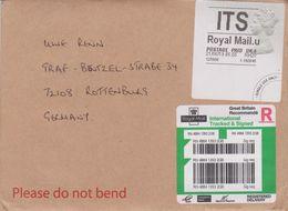 UK 2019. Schalterfreistempel, ATM, Intl. Tracked & Signed 6,55 Pd, Brief - Poststempel