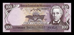 Nicaragua 100 Córdobas 1984 Pick 141 Serie F SC UNC - Nicaragua
