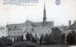 Ciney - église Des Capucins Et Quartiers Des étrangers (CP Desaix - Circulé 1922 Vers Bracquegnies) - Ciney