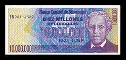 Nicaragua 10000000 Córdobas 1990 Pick 166 SC UNC - Nicaragua
