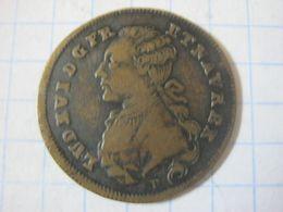 France , Royal Token , Louis XVI (1774 / 1793) , OPTIMO PRINCIPI 1788 - Royaux / De Noblesse