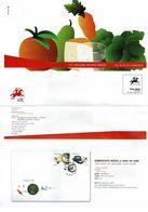 Portugal 2009 , Brochure , Pagela , Euro Coin , Healthy Eating , COP Olympics , Aero Club , Judo , Railway Linep - Autres (àpd. 1941)