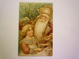 2020 - 6904  PERE NOËL  :  Très Jolie Carte Gaufrée    XXX - Santa Claus
