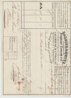 Ht RHIN : BARBIER & MUNTZ, Roulage Général Tout Pays à Cernay / LV De 1837 - Transporte