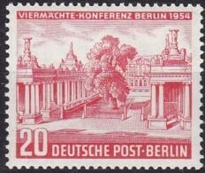 Berlin, 1954, 116, MNH **,   Viermächte-Konferenz. - Unused Stamps