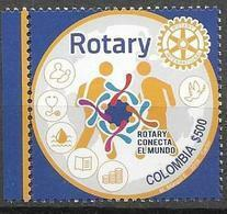 COLOMBIA, 2019, MNH, ROTARY,1v - Rotary Club