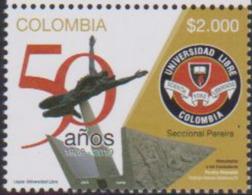 COLOMBIA, 2019, MNH, EDUCATION, FREE UNIVERSITY, SCULPTURES, 1v - Skulpturen