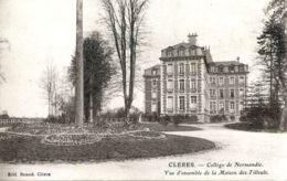 N°2164 R -cpa Clères -collège De Normandie- - Clères