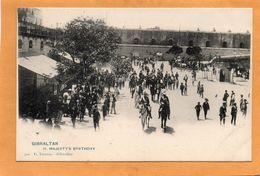 Gibraltar 1900 Postcard - Gibraltar