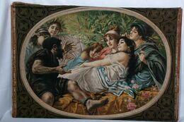R. Fontana - Oléographie - Scène De Nymphes, 1876 - Altre Collezioni