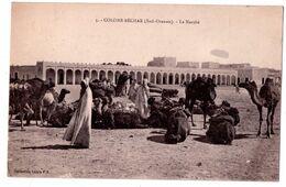 7421 - Colomb-Béchar ( Sud Oranais ) Algérie - Le Marché - N°5 - Coll. Idéale P.S. - - Bechar (Colomb Béchar)